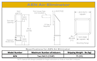 AEN-Series Air Eliminator - 2